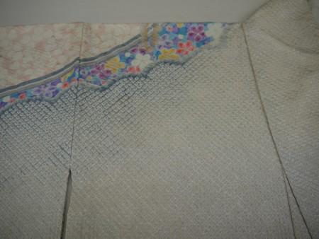 絞りの変色が絞りを傷めずにがきれいに直りました。汗抜きも完全に出来ました。
