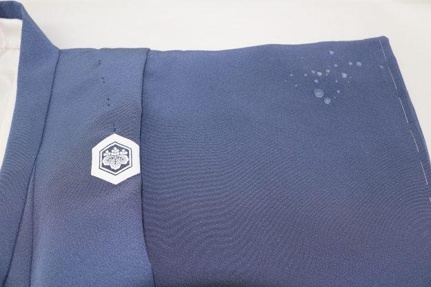 しらさぎガード加工をしましたので、水性のしみは付きませんよ♪ お正月は安心して着ていただけます。
